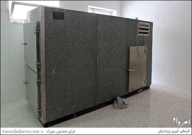 بهسازی اتاق سردخانه آرامگاه قصرفیروزه