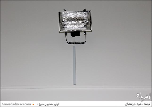 نصب پروژکتورهایی در سالن پذیرایی