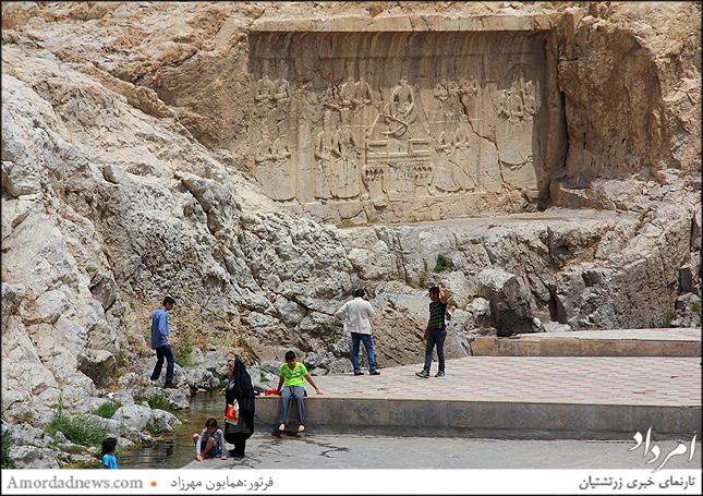 سنگنوشتههای حکاکی شده زمان پادشاهان قاجار