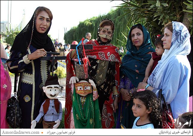 عروسک گردانهای استان بوشهر