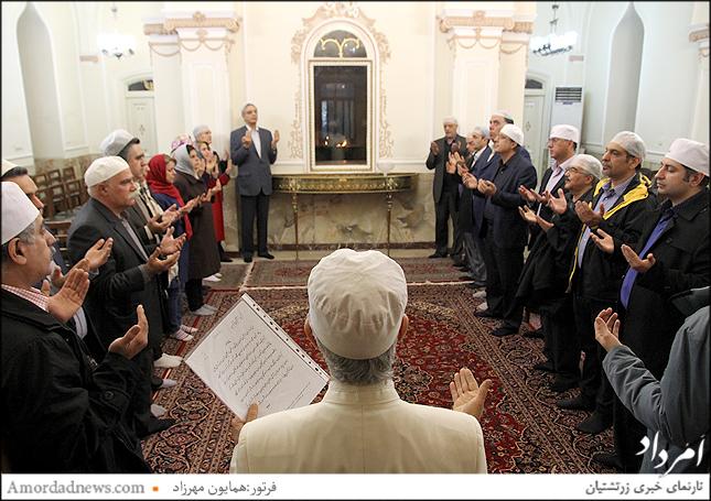 هیاتمدیره گردش 44 انجمن زرتشتیان تهران سوگند یاد کردند