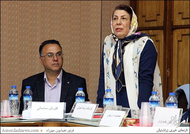 فرانک زنده نوش پس از اعلام برنامههایش به عنوان خزانهدار گردش 44 انجمن زرتشتیان تهران برگزیده شد