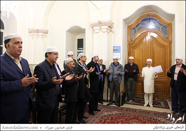 آیین سوگند سهشنبه 23 بهمن ماه 1397 در آتشکده تهران برگزار شد