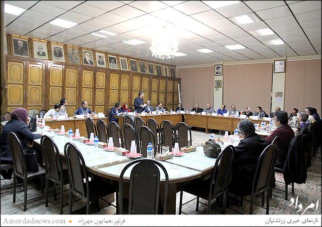 نخستین نشست گردش 44 انجمن زرتشتیان تهران برای تعیین هیات رییسه برگزار شد