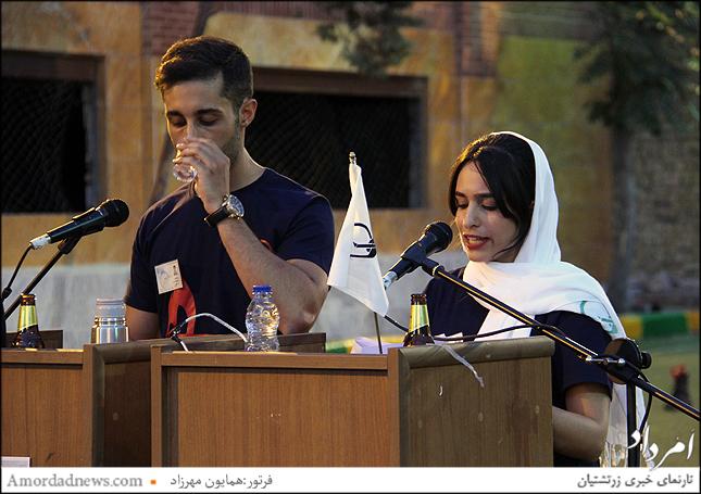 مجری های جام ورزشی 39 جانباختگان زرتشتیان