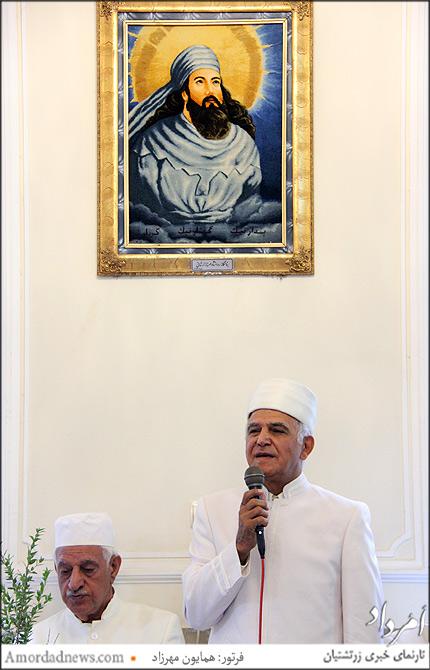 موبد رشید خورشیدیان درباره فلسفه چهره های آفرینش در واج یشت سخنم گفت
