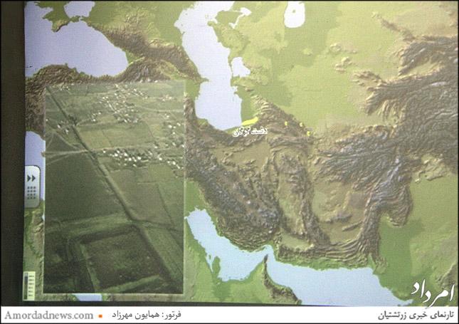 دیوار دفاعی گرگان دومین دیوار بلند جهان به طول 198 کیلومتر