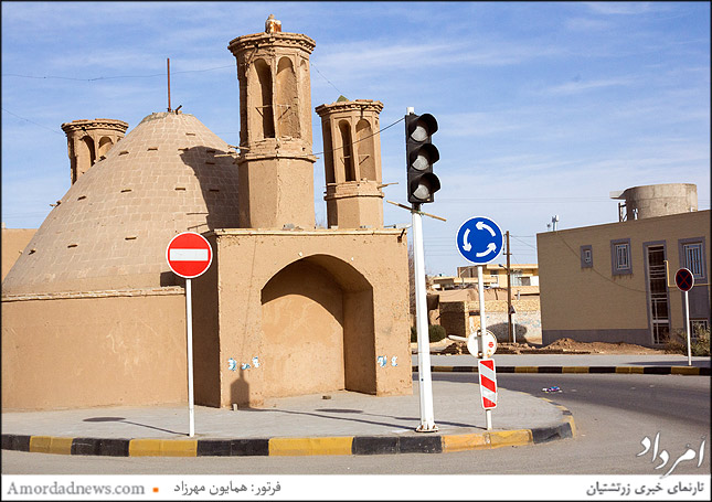 بادگیر محله رحمت آباد یزد