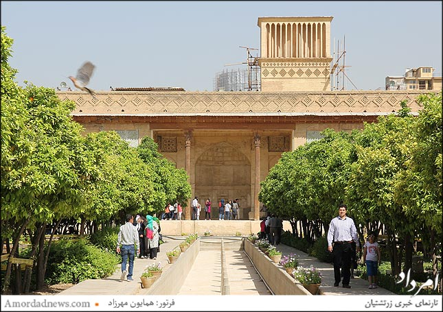 بادگیر ارگ کریمخانی شیراز