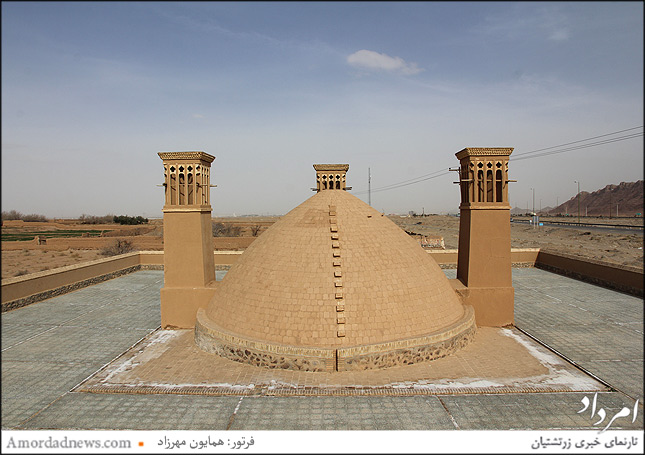 سه بادگیر منحصر بفرد روستای زرتشتی نشین زین آباد یزد