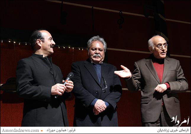 داوران بیستمین جشنواره موسیقی زرتشتیان ایران: محمد سریر، محمد دلنوازی و کیوان ساکت