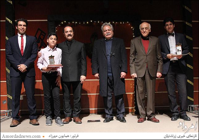 پارسا سلامتی پور و سپهر خدادادی مشترک در جایگاه دوم جشنواره موسیقی زرتشتیان